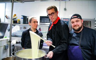 COMPLET – Apprenez l'aligot aveyronnais et le pâté traditionnel avec le MoF Gérard Cabiron – février